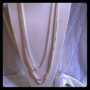 Sliver chain link Necklace